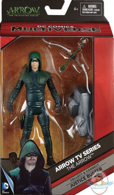 Dc Multiverse Green Arrow Tv Action Figure 6 Inch Mattel