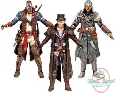 Assassin's Creed Series 5 Set of 3 Action Figures ...
