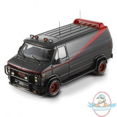 a team classic van hot wheels elite 1 43 scale vehicle by mattel man of action figures. Black Bedroom Furniture Sets. Home Design Ideas
