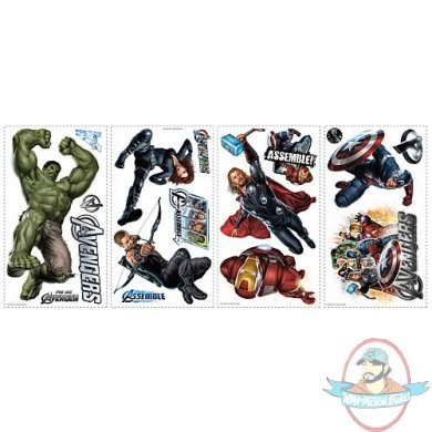 Avengers Peel and Stick Wall Decals by Roommates | Man of
