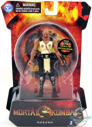 Jazwares Mortal Kombat 9 4 Inch Series 1 Action Figures