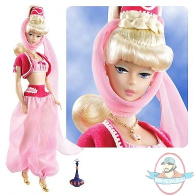Barbara Eden returns to Jeannie... as a doll! Classic pink outfit straight from the classic 1965 sitcom! Bring home a piece of television history!  sc 1 st  Man of Action Figures & Barbie I Dream of Jeannie Doll Doll by Mattell   Man of Action Figures
