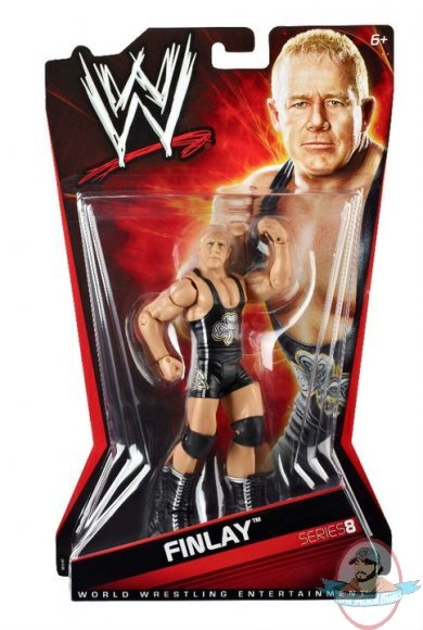 Wwe Finlay Basic Series 8 Figure By Mattel Man Of Action