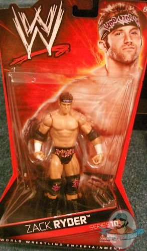 Wwe Basic Series 10 Zack Ryder By Mattel Man Of Action