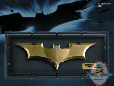 DC Batman JLA Justice League Batarang Prop Replica NOBLE COLLECTIONS