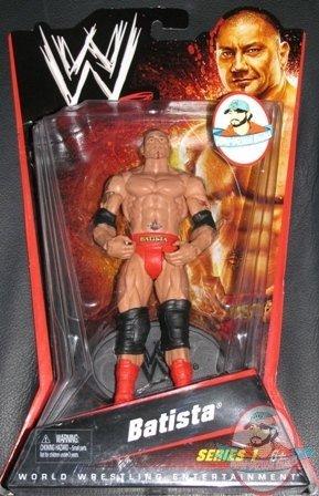 Wwe Batista Mattel Series Basic Series 1 New Figure Moc