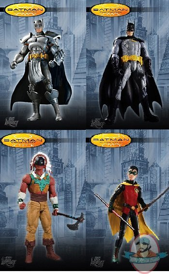 Batman Incorporated Series 1 Set Of 4 Figures By Dc Direct