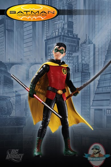 Batman Incorporated Damian As Robin Action Figure By Dc