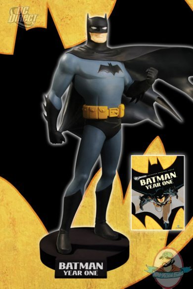 batman year one dvd maquette by dc direct