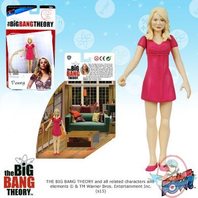 The Big Bang Theory 3 3 4 Inch Figures Series 1 Penny