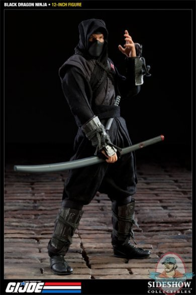 Kyoketsu Shoge Black Dragon Ninja G.I...