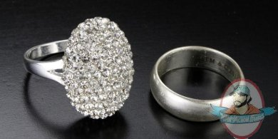 Twilight Bella Engagement Ring And Wedding Band Breaking Dawn Replica