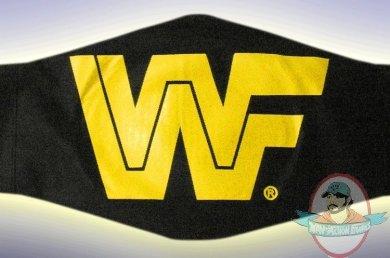 Classic Wwf Logo Replica Belt Bag For Adult Sized Belts