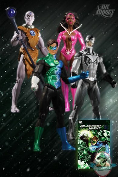 Blackest Night Action Figure Box Set By Dc Direct Man Of