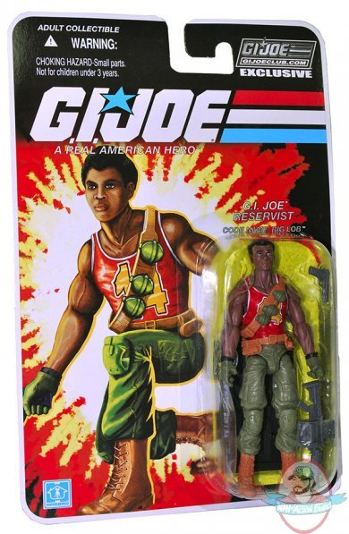 G i  Joe Collectors Club Exclusive 3 3/4 inch Big Lob Hasbro