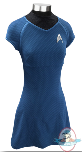 Star Trek The Movie Dr Carol Marcus Blue Dress Large