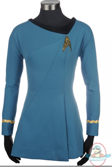 Star Trek The Original Series Sciences Blue Dress Large Anovos  sc 1 st  Man of Action Figures & Star Trek The Original Series Sciences Blue Dress Large Anovos | Man ...