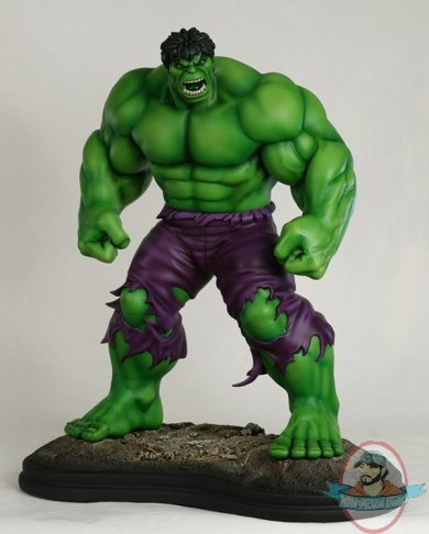 Marvel Hulk Variant Exclusive Statue By Bowen Designs Used