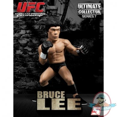 Ultimate Collector Sealed Figure BRUCE LEE Great Condition * * Round 5 UFC