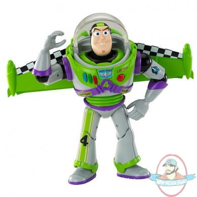 Disney Toy Story Buzz RC Racing Figure by Mattel | Man of ...
