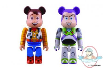 Toy Story 3 Buzz Amp Woody Bearbrick 2 Pack By Medicom Man