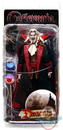 Castlevania Dracula Mouth Open Action Figure By Neca