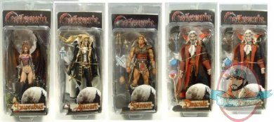 Castlevania Set Of 5 7 Quot Action Figures By Neca Man Of