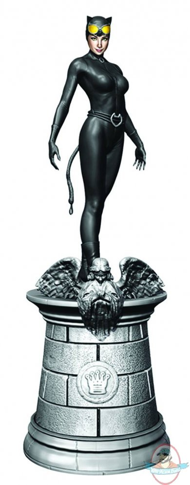 ... Figurine #6 Catwoman White Queen Eaglemoss | Man of Action Figures