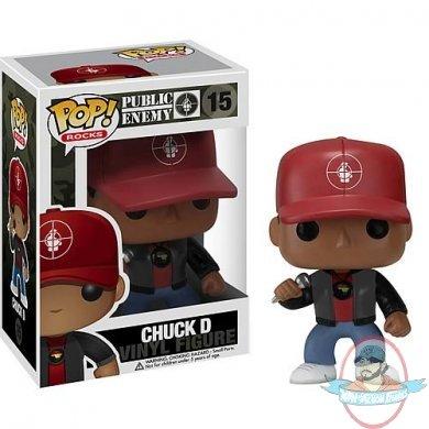 Public Enemy Chuck D Pop Vinyl Figure By Funko Man Of