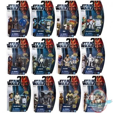 Star Wars Clone Wars 2012 Action Figures Wave 2 Case Man