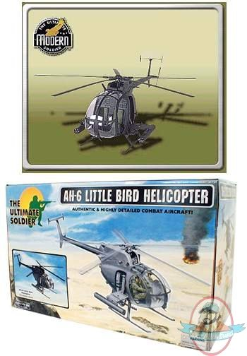 1 6 Scale Ultimate Soldier Ah6 Little Bird Helicopter 21st Century