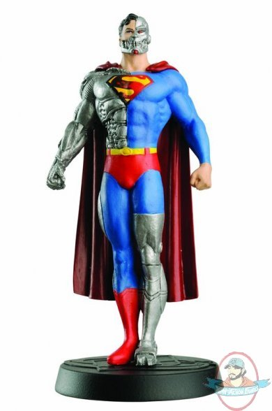 Best Super Hero Toys And Action Figures : Dc superhero figurine collection magazine cyborg
