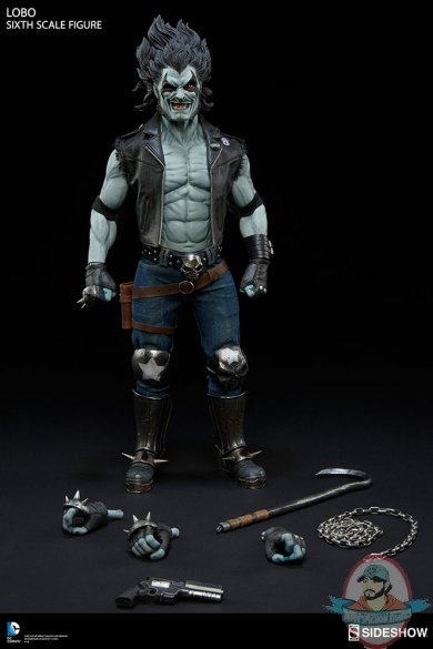 1 6 Sixth Scale Dc Lobo Figure By Sideshow Collectibles