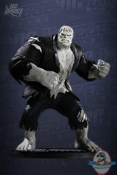Dc Universe Online Solomon Grundy Statue By Dc Direct