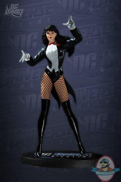 Dc Universe Online Zatanna Statue By Dc Direct Man Of