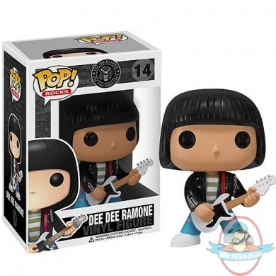 Ramones Dee Dee Ramone Pop Vinyl Figure By Funko Man Of