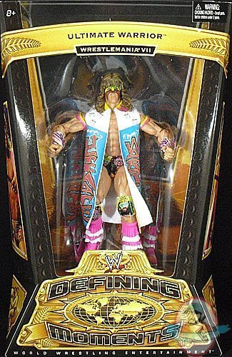 Wwe Defining Moments Ultimate Warrior By Mattel Man Of