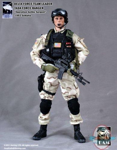 16 delta force team leader task force ranger man of