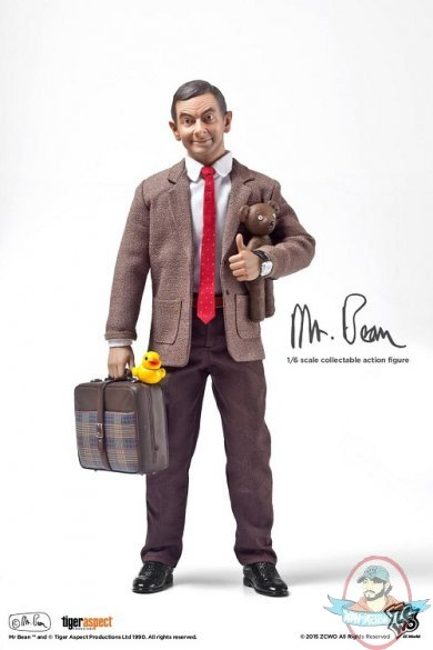 1 6 Scale Mr Bean Deluxe Version 12 Inch Figure Zc 185 By