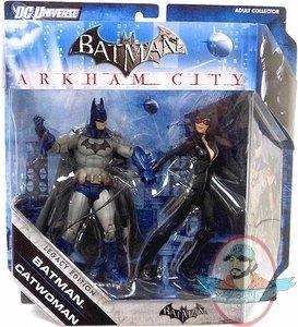 Batman Legacy Arkham City Batman And Catwoman Figures 2