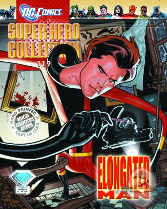 Dc Superhero Figurine Collection Magazine 119 Elongated Man