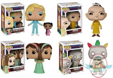 Pop Television American Horror Story Freak Show Set Of 4