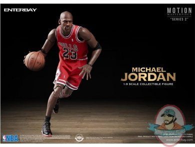 5fce8049d433 1 9 Scale Motion Masterpiece Michael Jordan Figure Enterbay