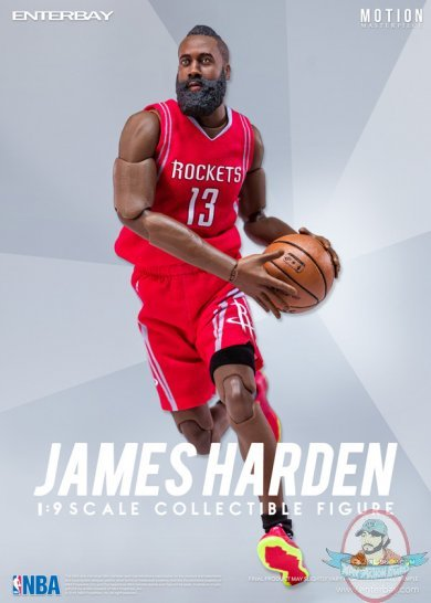 b174f0e5b454 James Harden (Houston Rockets) 1 9th Scale 8