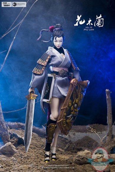 1 6 Scale Army Attractive Volume 10 Mulan Original Effect