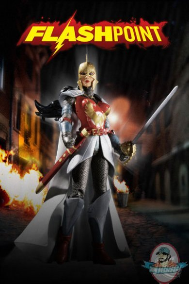 flashpoint series 1 wonder woman action figure by dc direct