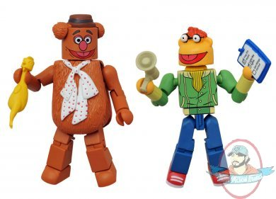 Fozzie Amp Scooter Muppets Minimates 2 Pack By Diamond