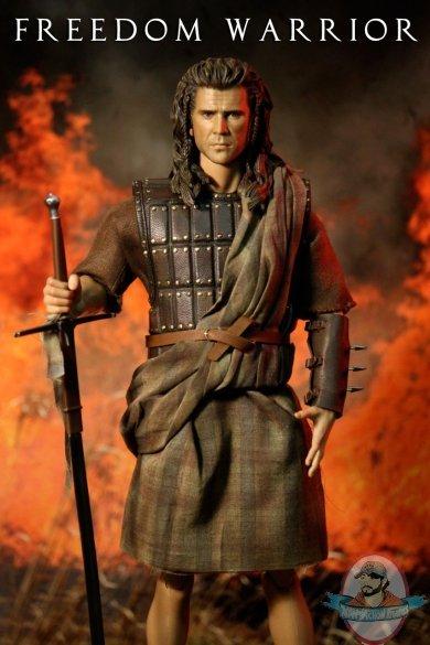 16 scale scottish freedom warrior kilt skirt with shirt