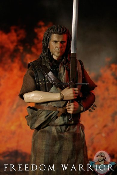 1 6 Scale Scottish Freedom Warrior Resin Sword By Iminime