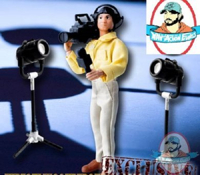 Camera Man /& Lights For WWE Figures Wrestling Figure Gear Special Deal #14